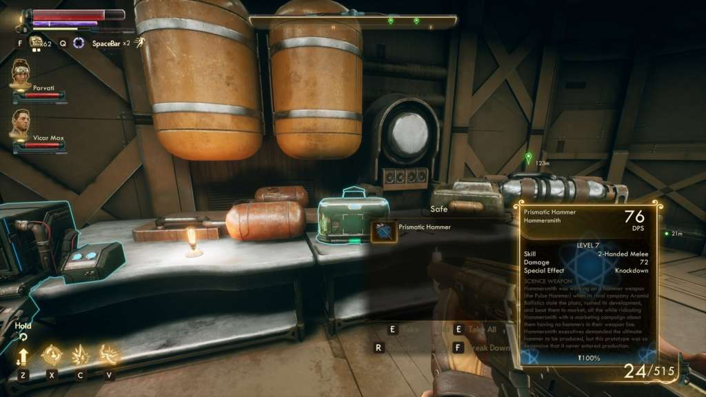 Where to find the science weapon at The Outer Worlds