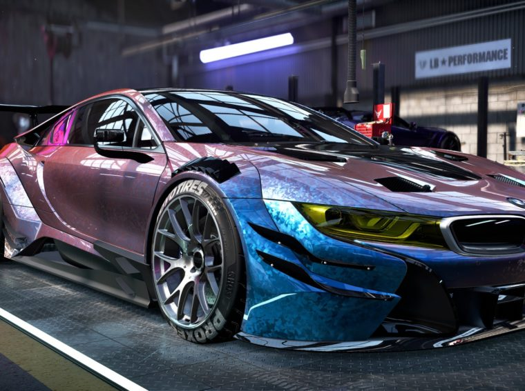 Introduced new screenshots and Need for Speed Heat gameplay