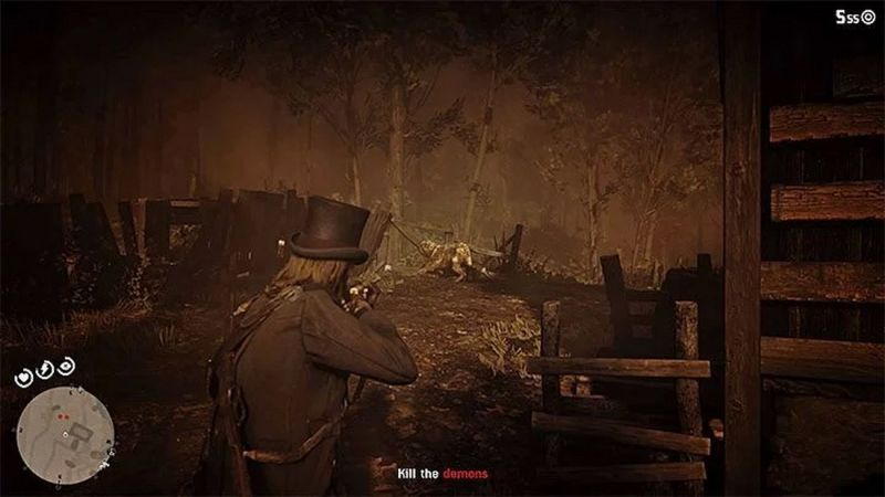Side quests in Red Dead Redemption 2