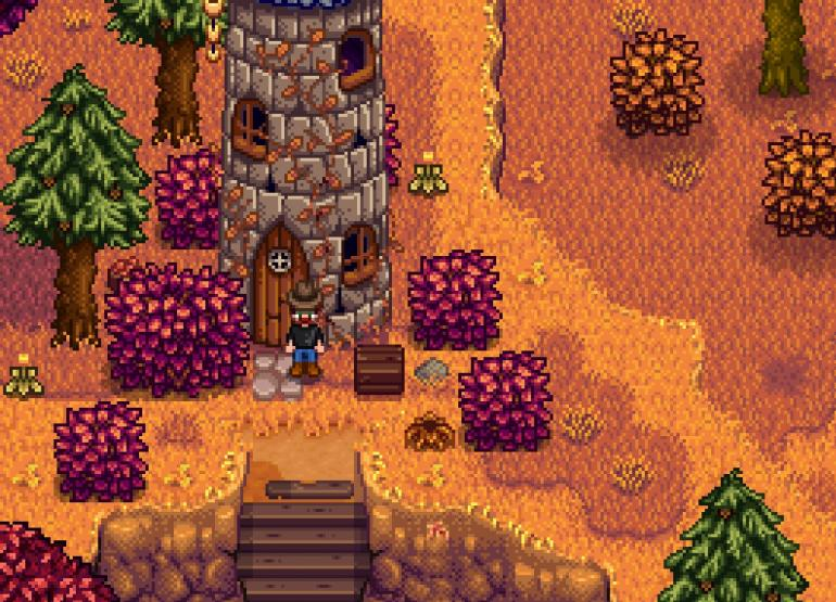 Stardew valley - how to get the Golden Scythe.