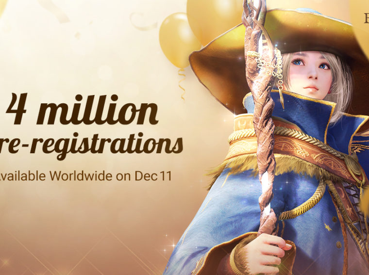 Black Desert Mobile: Pre-registration reached 4 million users