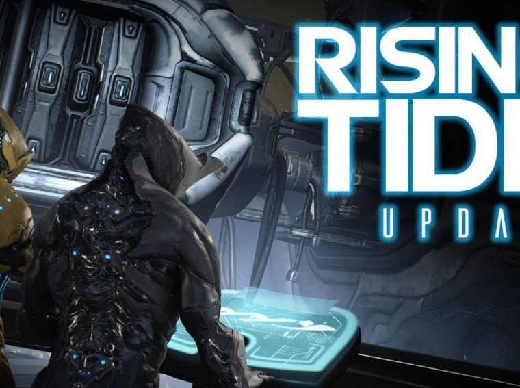 "Warframe - how to start the ""Rising Tide"" and create a Railjack ship"