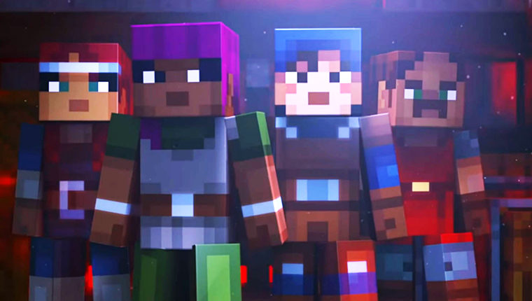 Spiders, ghosts, and magic - 12 minutes of Minecraft Dungeons' Diablo-like gameplay