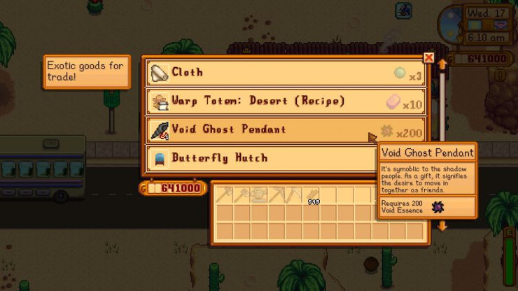 Stardew Valley - how to become friends with the Krobus and make it a neighbor