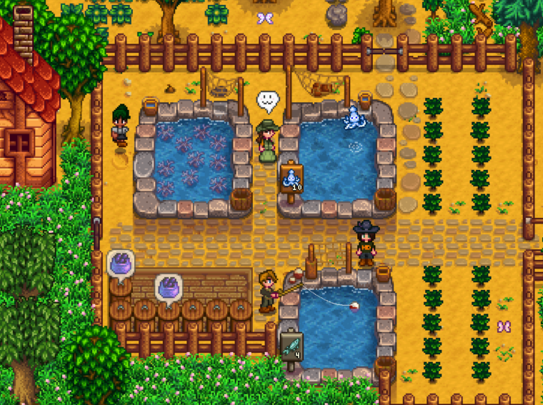 Stardew Valley - how to build a fish pond