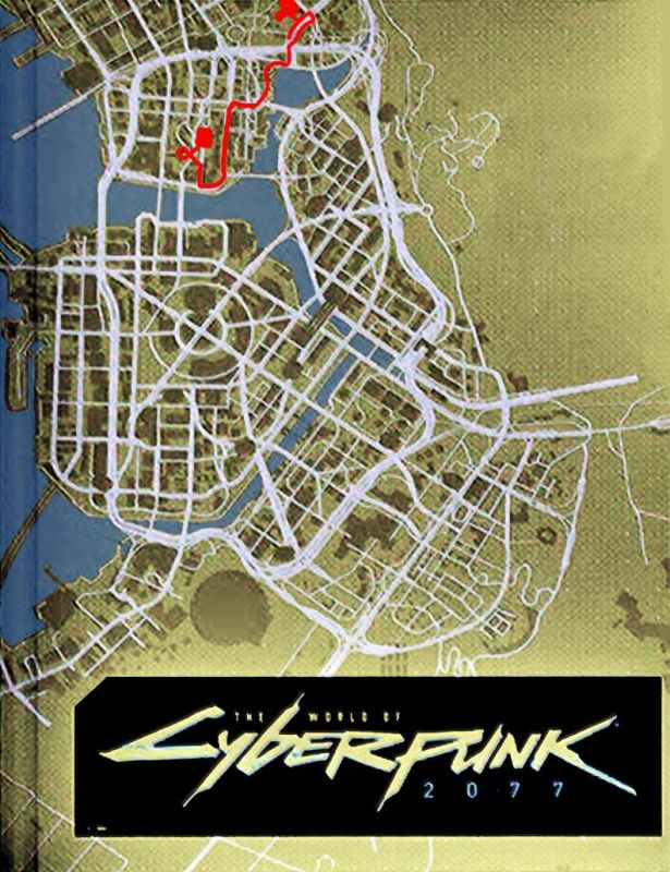 The world of Cyberpunk 2077 is not as small as many people thought