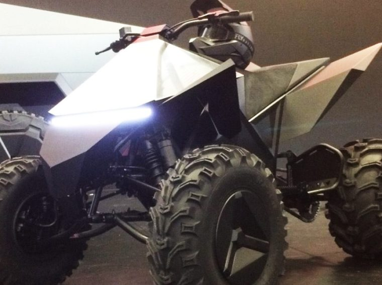Tesla will release an electric quad bike with Cybertruck