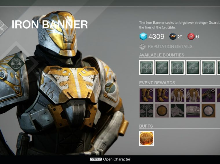 Destiny 2 - Passing the Signal Fire of the Iron Banner Season 9