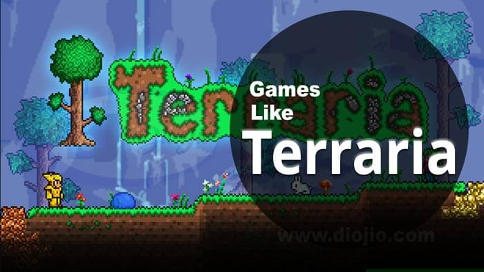Games similar to Terraria.