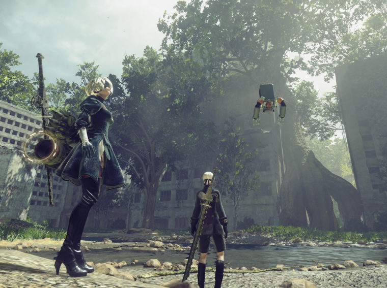 Similar games to NieR: Automata if you're looking for something like this.