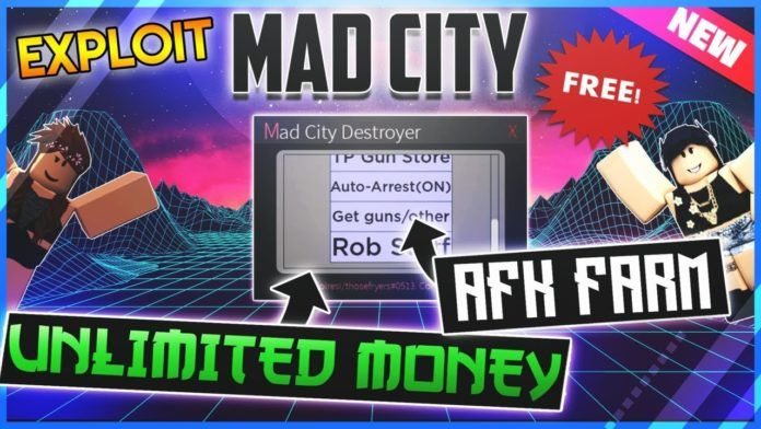 Roblox Mad City - codes (cheats) for February 2020