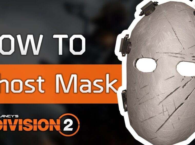 How to get a ghost mask in The Division 2