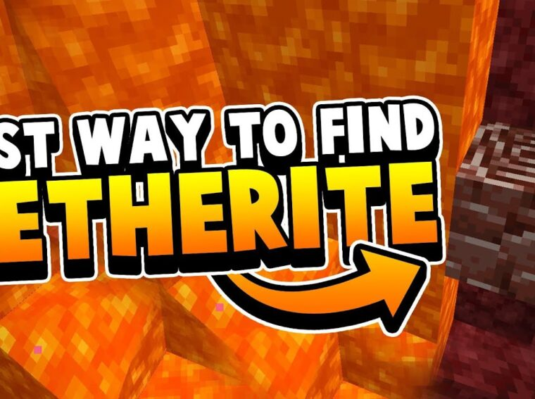 Minecraft - where to find ancient Debris and Netherite.