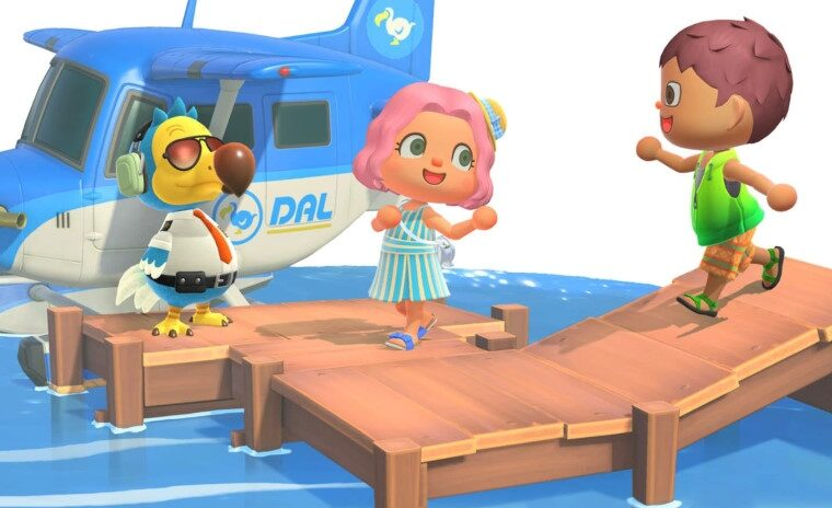 Can you swim and go in the water at Animal Crossing: New Horizons?