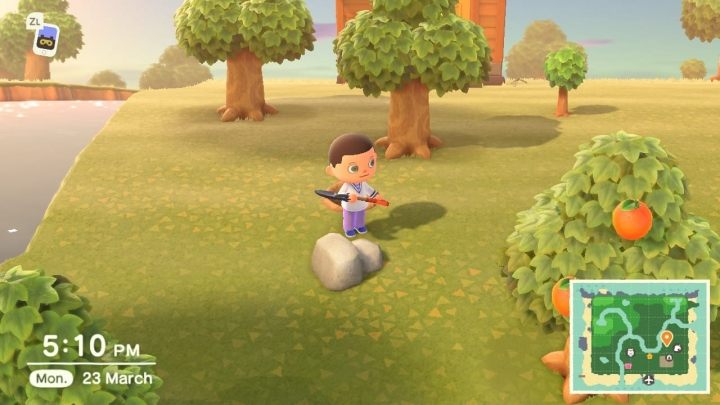 How to find (mine) iron nuggets in Animal Crossing: New Horizons