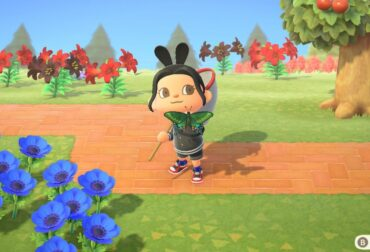 How to catch the Peacock's Butterfly in Animal Crossing New Horizons