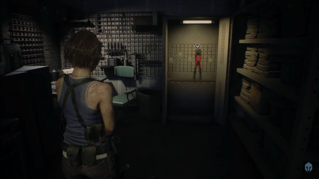 How to cut chains in Resident Evil 3 Remake