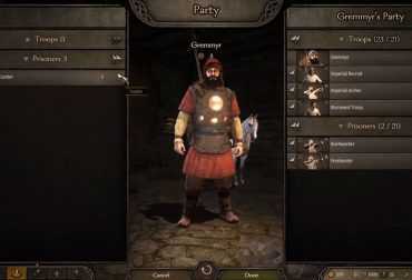 Mount & Blade II: Bannerlord - how to recruit prisoners