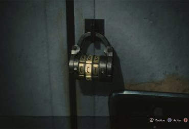 Locker room puzzle in Resident Evil 3 Remake