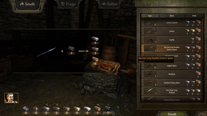 How to Craft and Disassemble Weapons in Mount & Blade 2: Bannerlord