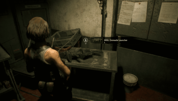 Codes and combinations from safes, locks and lockers in Resident Evil 3 Remake