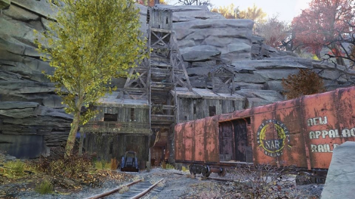 Fallout 76: Wastelanders guide - Keyboard codes for the Gauley Mine. How to open the cage door?