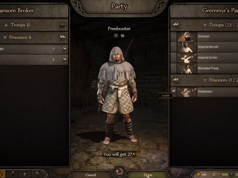 How to Hire Unique Warriors in Mount & Blade 2: Bannerlord