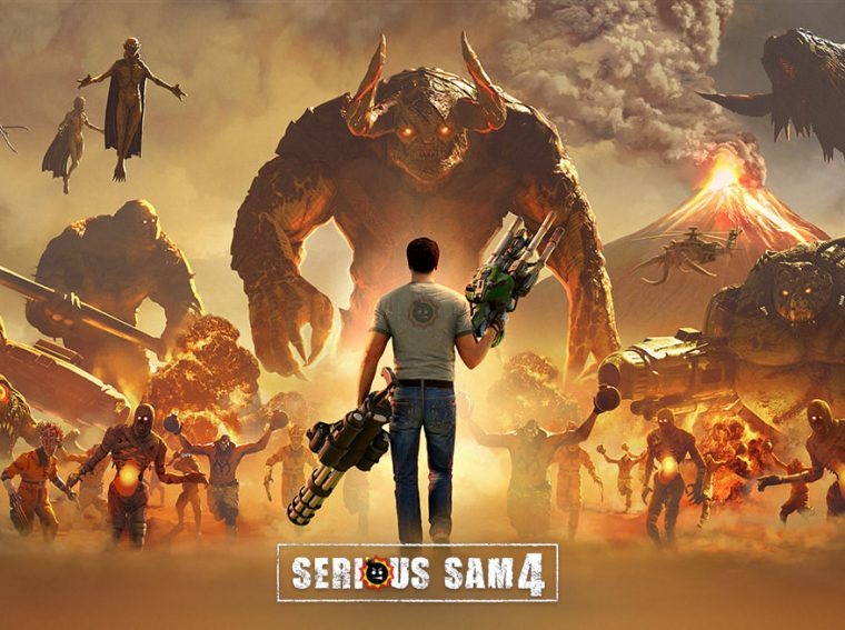 Serious Sam 4: All the secrets of the Mission 01: Death from heaven