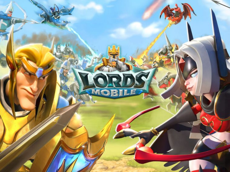 Lords Mobile - codes for November 2020