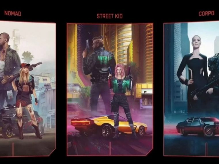 Who to play for in Cyberpunk 2077 - a nomad, a corporation or a street child. Which life path is better to choose