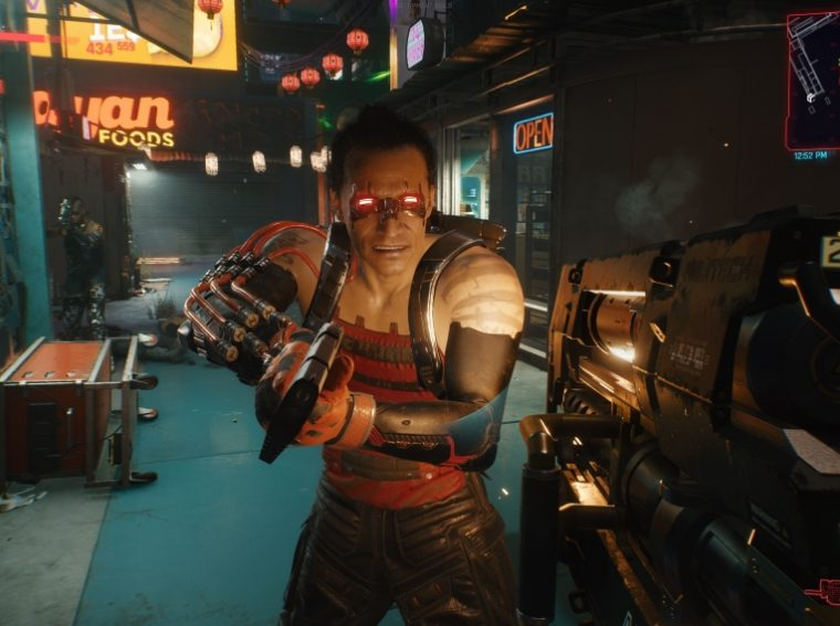 Overheating during the battle in Cyberpunk 2077